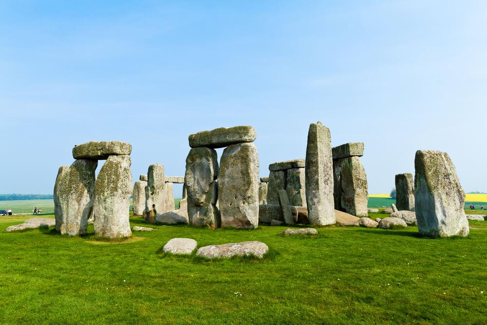 famous UK historical site Stonehenge