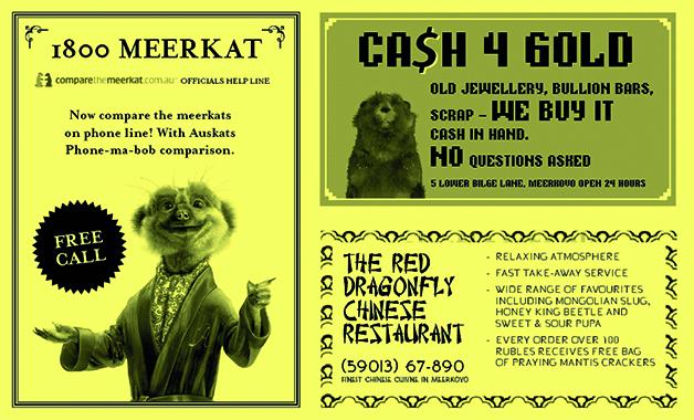 1800 Meerkat Helpline