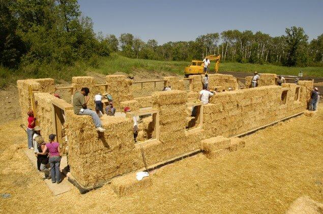straw bale homes