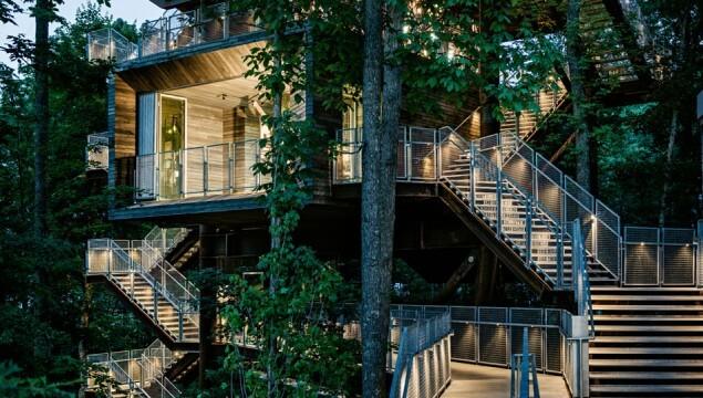 Sustainability treehouse Image Source