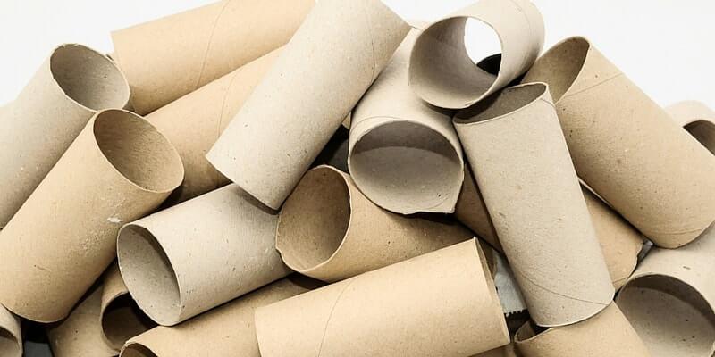 Repurpose cardboard tubes