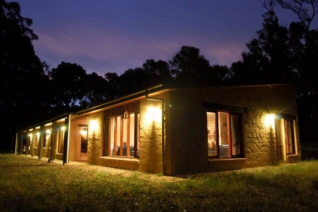 mudbrick house