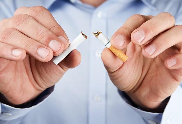 break cigarette