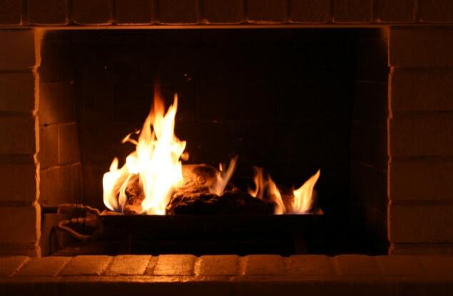 winter savings fire