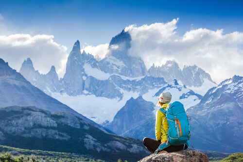 Trekking through Patagonia