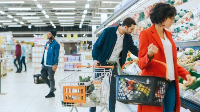 grocery shopping hacking credit card rewards program