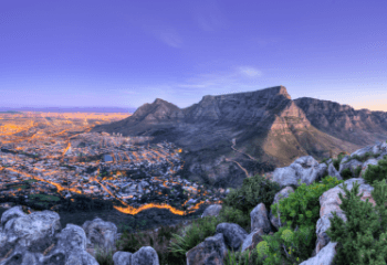 Travel destinations south-africa