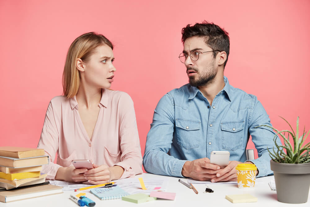 health insurance confused couple tax time