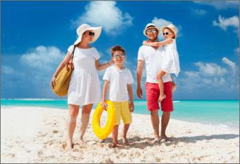 travel types header family