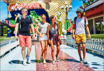 travel types header group