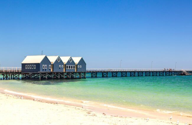 The Busselton Jetty at Margaret River