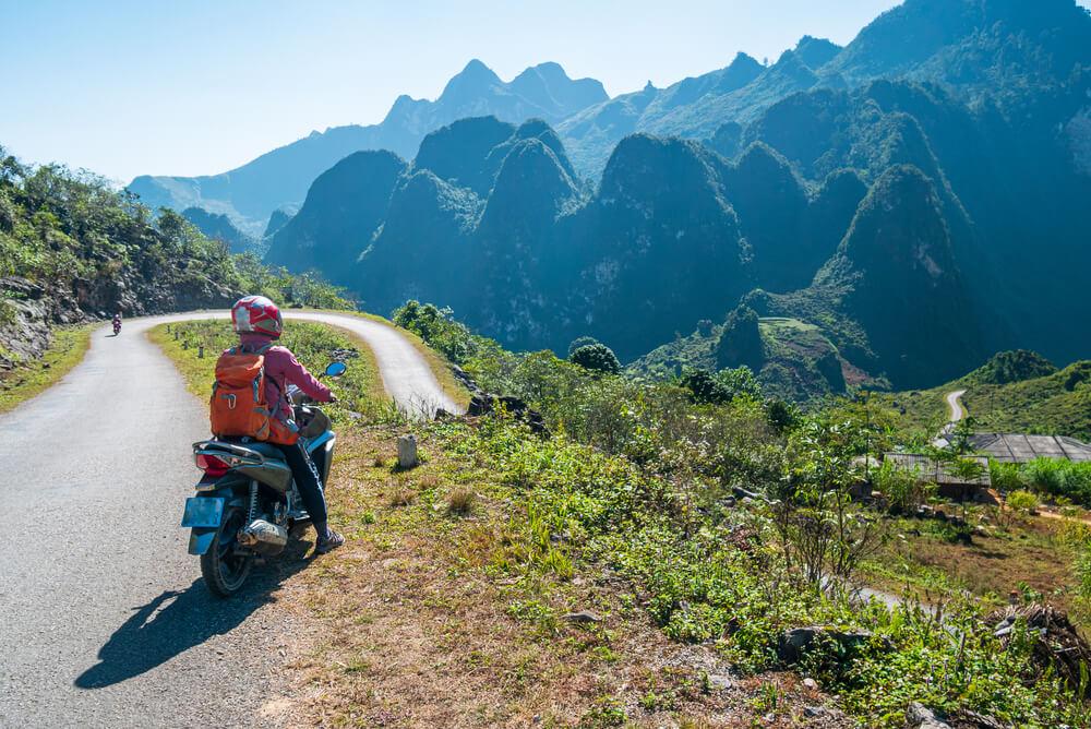 motorcycling through vietnam