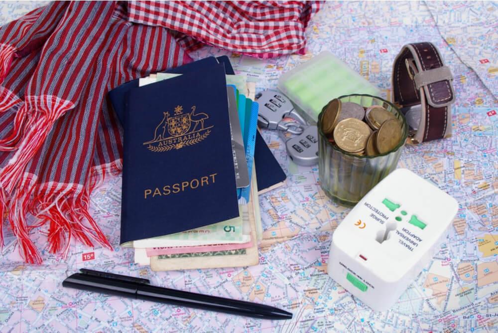 Australian passport overseas