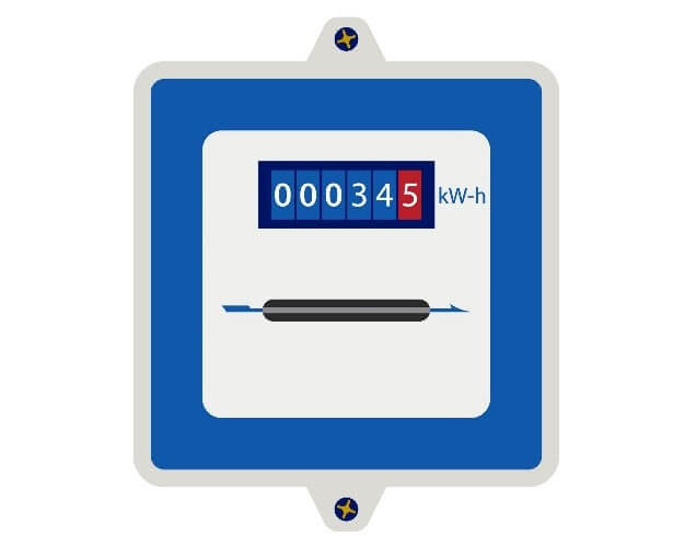 electricity flat rate meter