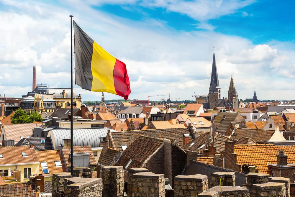 Belgium flag at Gravensteen