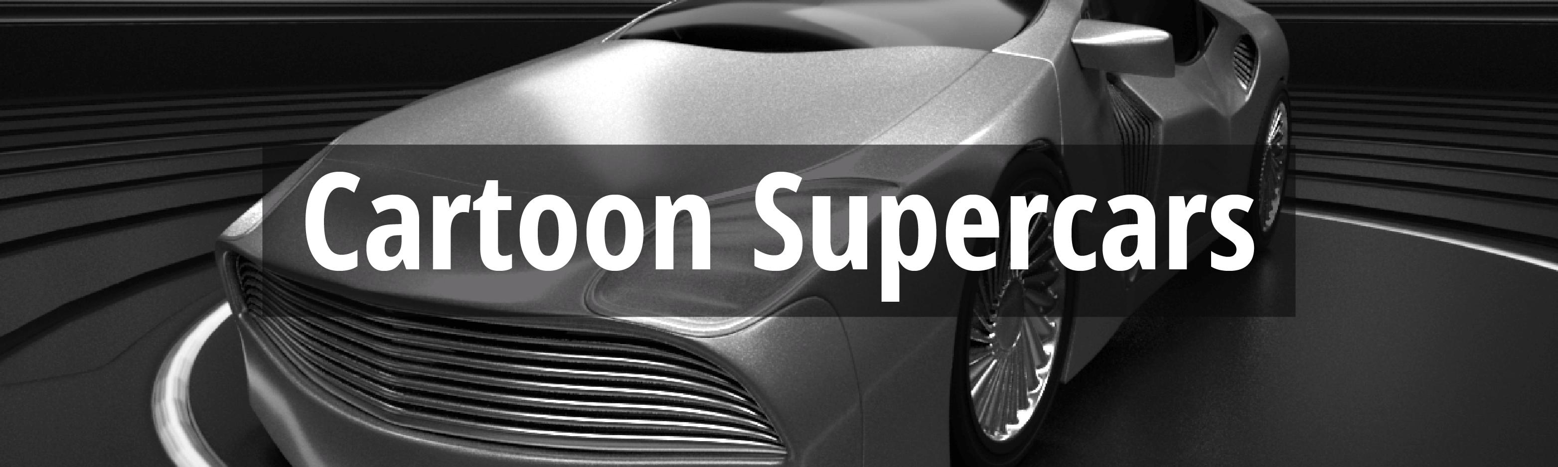 Cartoon Supercars desktop
