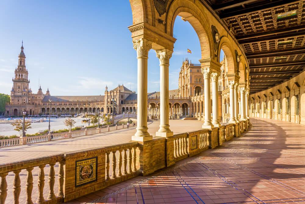 Plaza de Espana for Travel insurance for Spain