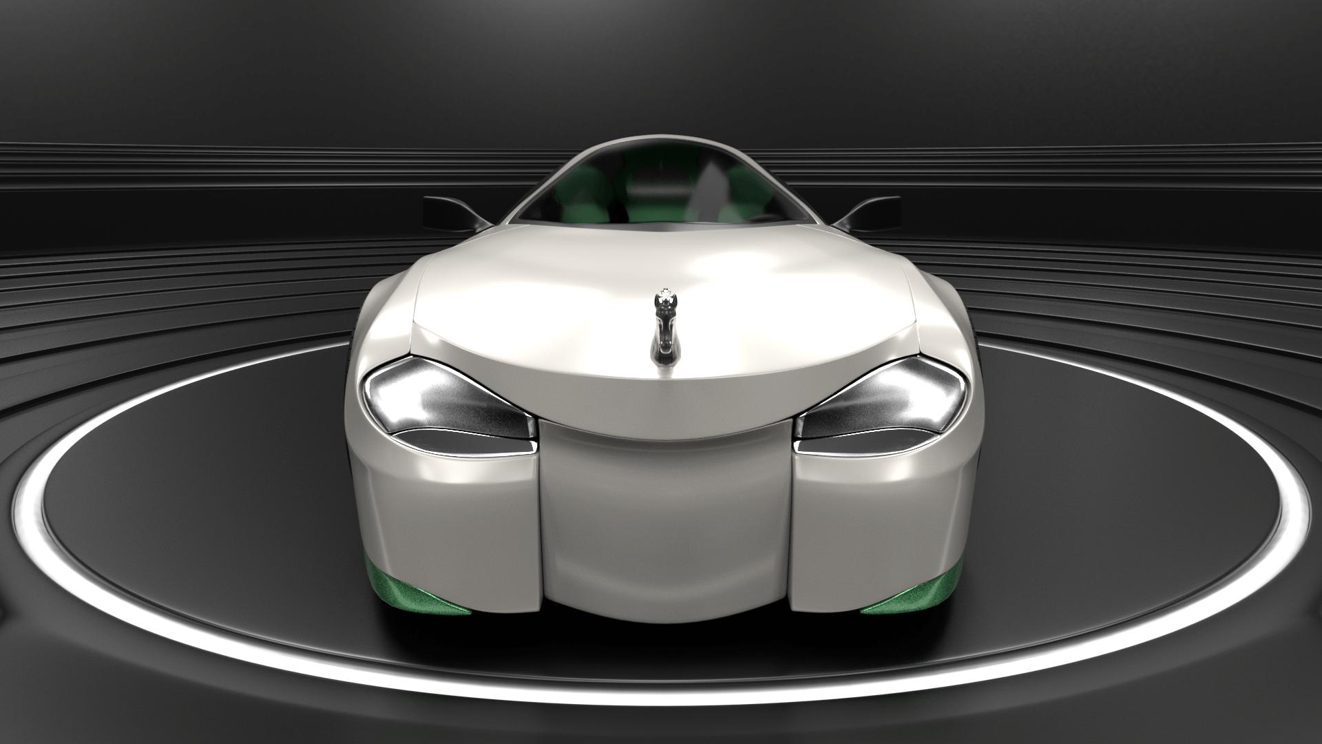 Shrek's Onion Carriage as a supercar 5