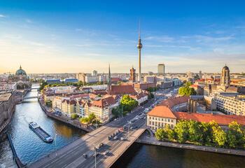 Berlin skyline by day