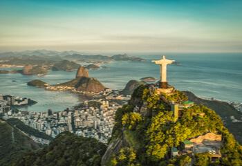 Brazilian city landscape