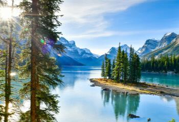 Landscape of canadian nature