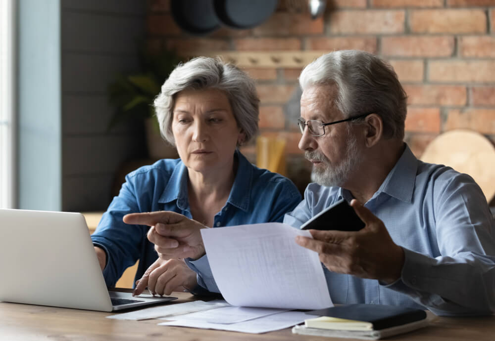 old couple applying for eapa assistance
