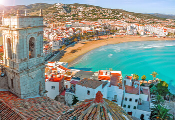 Spanish seaside
